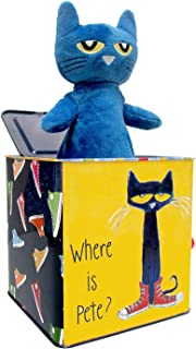 Pete The Cat Jack-in-The-Box - Musical Toy for Babies