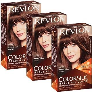 Revlon Colorsilk Hair Color, Medium Golden Brown [43] 1 ea