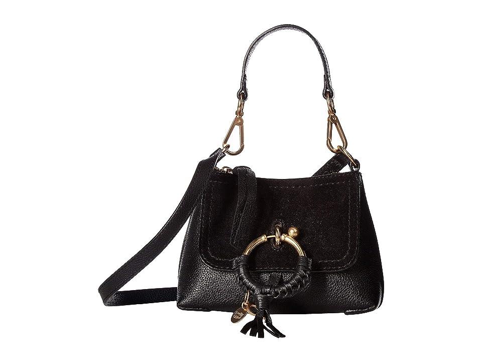 See by Chloe Joan Mini (Black) Handbags