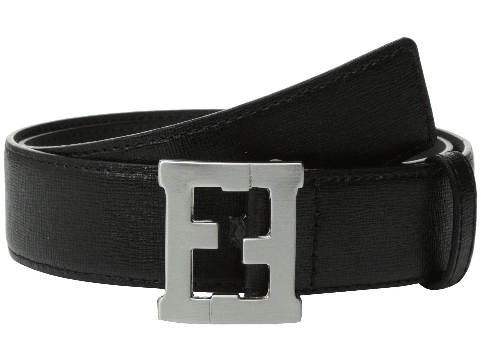 Cinturon para Niño Fendi Kids Logo Buckle Leather Belt (Toddler/Little Kids/Big Kids)  + Fendi Kids en VeoyCompro.net