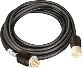 Reliance Controls Corporation PC2020 20-Amp, 20-Foot Generator Power Cord for Generators Up to 5,000 Running Watts