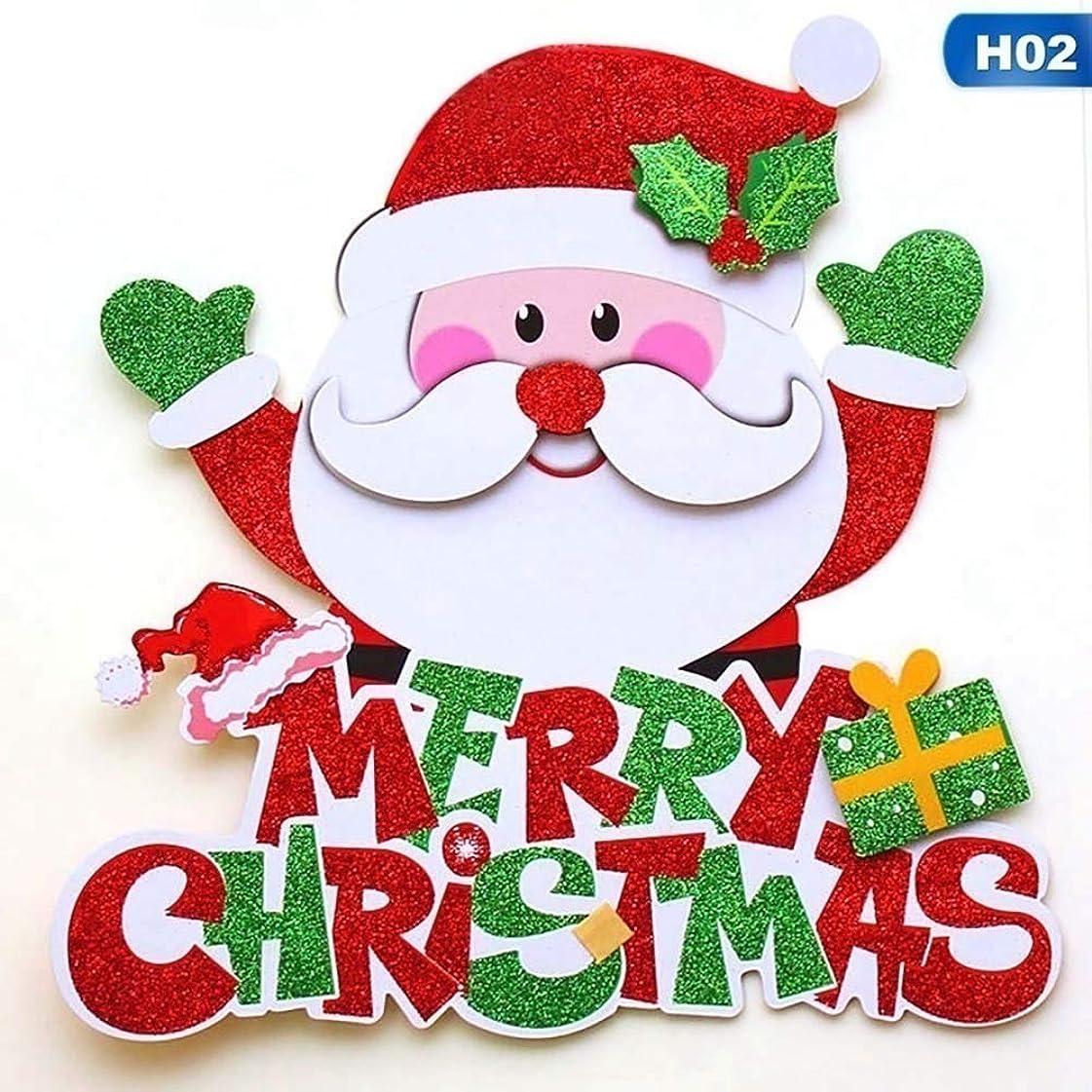 ぺディカブトランペット輝度Creacom クリスマス飾り 吊り装飾 ドア飾り物 壁掛け 玄関掛け 装飾 ストラップ 置物 ペンダント クリスマスオーナメント ツリー飾り 雰囲気作り 手作り装飾 サンタクロース 雪だるま トナタ パーディー プレゼント