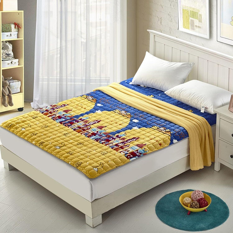 Mattress Anti-Slip Super Soft Mattress Sheet,[Double],Student,pad Bed Mattress-C 100x200cm(39x79inch)