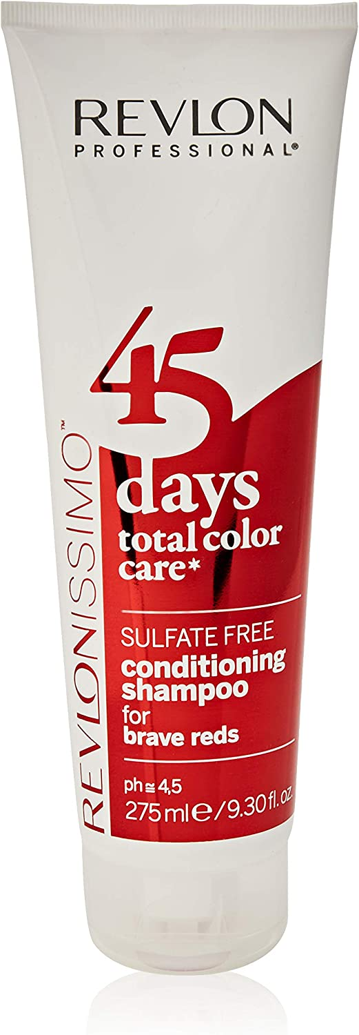 REVLON PROFESSIONAL 45 Days Conditioning For Brave Reds Champú - 275 ml