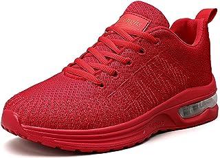 ASMCY Unisexo Moda Casual Zapatos Deportivos Hombres Mujeres Colchón de Aire Al Aire Libre Zapatos para Correr, Ligero y R...