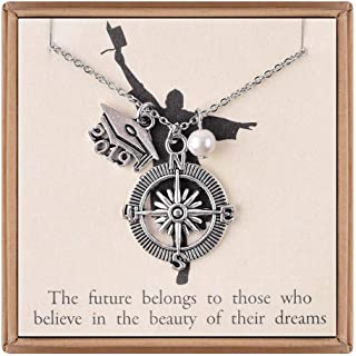 IEFLIFE Necklaces for Women Girls Gifts, Gold Plated Pendant Necklace Mother Daughter Gifts Tree of Life Teacher Gifts Pineapple, Elephant Necklace Gifts for Women Girls Graduation Gifts for Her