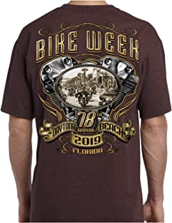 2019 Bike Week Daytona Beach Main Street Engine T-Shirt