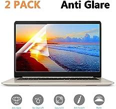 (2-Pack) 15.6 inch Anti-Glare/Anti Scratch Matte Laptop Screen Protector Guard for Display 16:9 15 inch Notebook Film