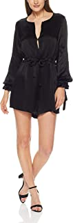 THIRD FORM Women's Intrigue Tied Playsuit, Black
