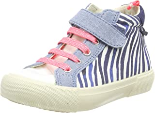 Joules Baby Girl's Coast Pump Canvas Mid Trainer