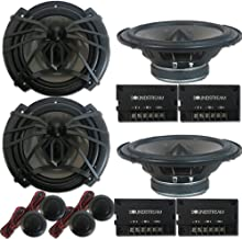 "4 x Soundstream AC.6 Arachnid Series 6.5 inch 2-Way Car Audio Component Speaker System 6-1/2"" 300W photo"
