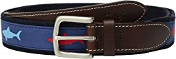 Patriot Shark Canvas Club Belt