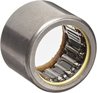 """INA SCE1212PP Needle Roller Bearing, Caged Drawn Cup, Steel Cage, Open End, Double Sealed, Inch, 3/4"""" ID, 1"""" OD, 3/4"""" Width, 10000rpm Maximum Rotational Speed, 3950lbf Static Load Capacity, 2850lbf Dynamic Load Capacity"""