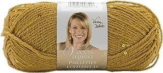 Lion Brand Yarn 863-171 Vanna's Sequins Yarn, Amaretto