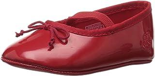 ralph lauren 婴儿用品儿童 ' allie 红色芭蕾平底鞋 红色漆皮 2 M US Infant