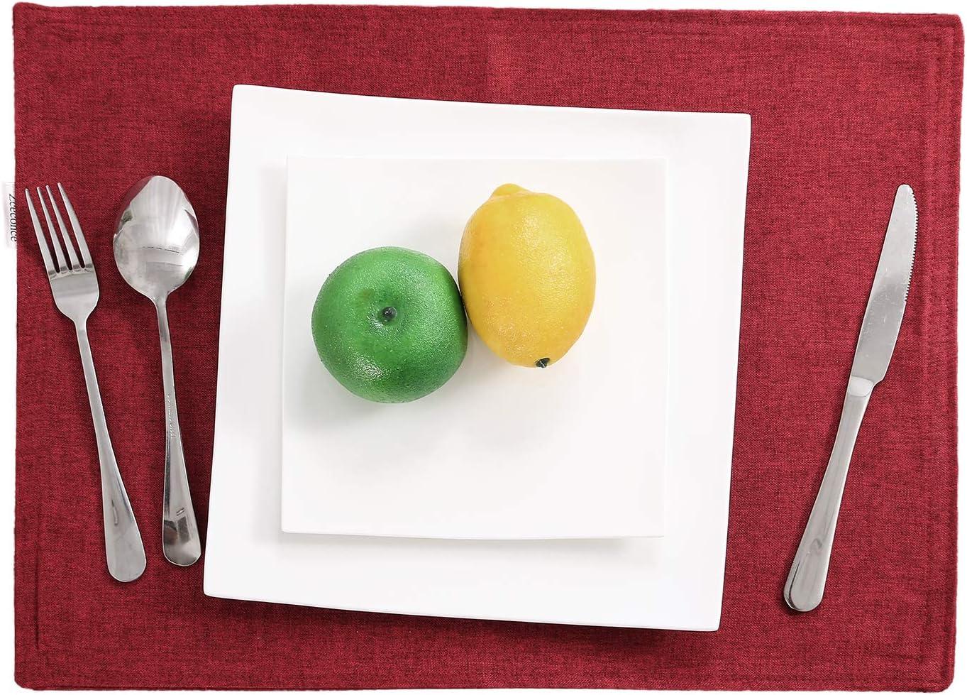 春の新作 Zceconce Rectangle Tablecloth Waterproof Table Thick Linen 激安通販専門店 Cover
