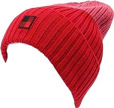 WOOLRICH 4500AC cuffia donna red/dark rose wool hat woman