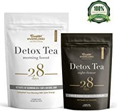 Detox Tea 28 Day Ultimate Teatox - Burn Fat and Boost Your Energy, Colon Cleanse and Flat Belly, Restore Your Body Natural Balance and Accelerate Weight Loss - Easy Brewing and Taste Delicious