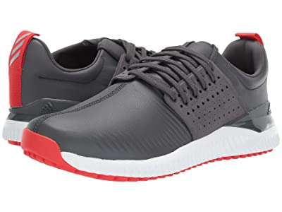 adidas Golf Adicross Bounce (Grey Six/Active Red/Footwear White) Men