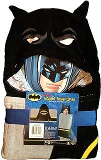 batman hooded poncho