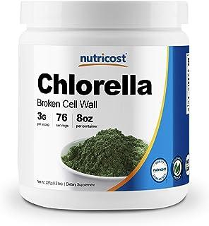 Nutricost Chlorella Powder 8oz - 3000mg Per Serving - Non-GMO, Gluten Free