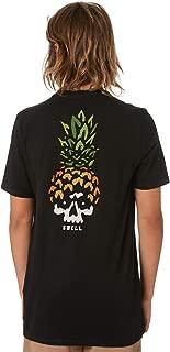 Swell Boys Boy's Pineapple Head Tee Short Sleeve Cotton Black