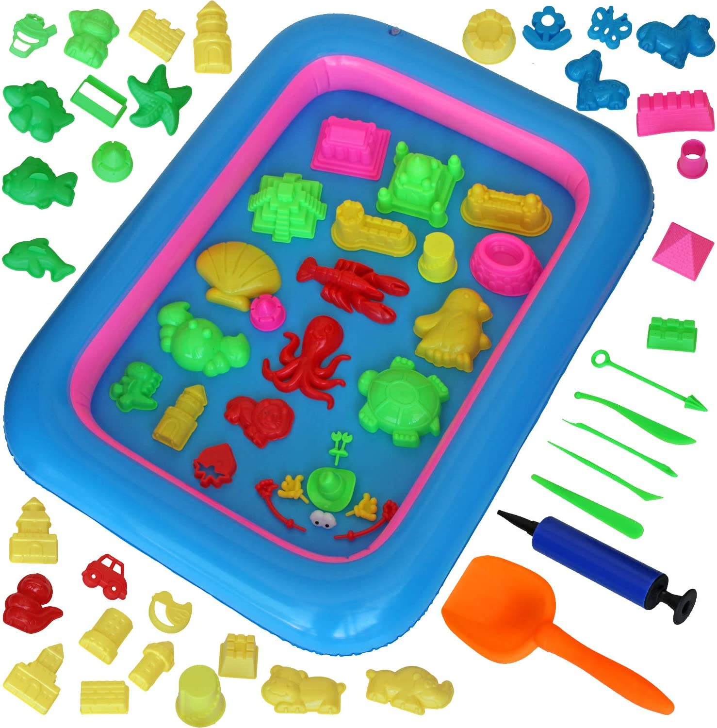 MUKOOL Sand Molding Tools kit for 71PCS Very popular! Castle Kids Al sold out. S Molds