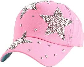 LONIY Brand Rhinestone Star Hip hop for Children Child 4-12 Year boy Girl Summer Outdoor Baseball Cap