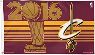 WinCraft NBA Cleveland Cavaliers 3'x5' Flag, One Size, Team Color