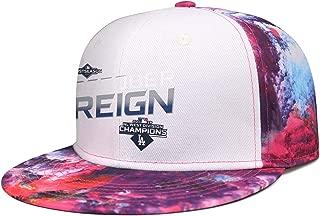 Unisex Womens and Mens Cotton VintageFashion Running Logo Pattern Print Hat