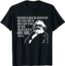 Funny Karl Marx Quote Communism Marxism Meme T-Shirt