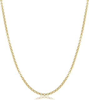 14k Yellow Gold 1.9mm Rolo Chain (16, 18, 20, 22, 24 or 30 inch)