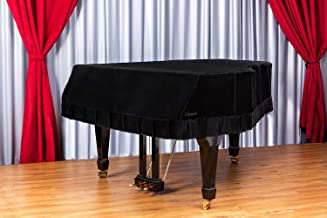 Clairevoire Grandeur: Premium Velvet Grand Piano Cover [C3] | Handcrafted | Luxury-grade Velvet | Anti-scratch/blemish/dust | Gentle Climate Protection | For Yamaha, Steinway, Kawai and many others