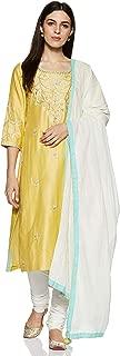 BIBA Women's Straight Salwar Suit