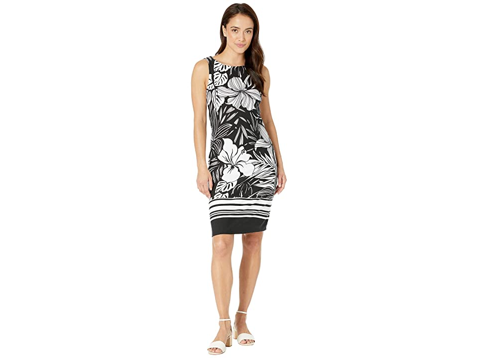 Tommy Bahama Mahana Beach Sheath Dress (Black) Women