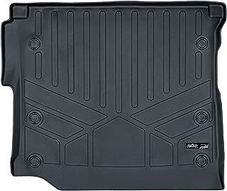 MAXLINER Cargo Trunk Liner Floor Mat Black for 2018-2019 Jeep Wrangler Unlimited with Subwoofer (JL Body Style - not JK)