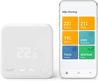 tado° Bedrade Slimme Thermostaat Starterskit V3+ – Intelligente verwarmingsaansturing, eenvoudige doe-het-zelf installati...