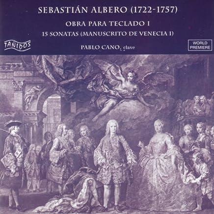 Sebastián Albero: Obra para Teclado I.15 Sonatas (Manuscrito de Venecia I)