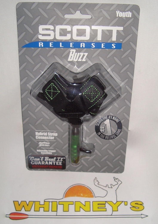 Scott Archery Buzz Small Buckle Strap Release Green