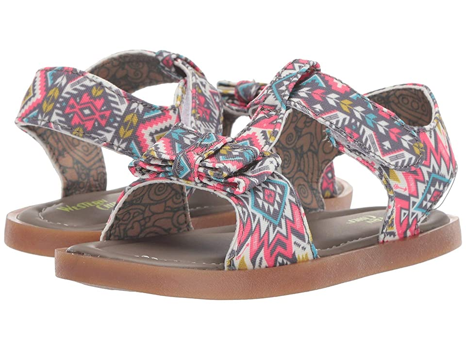 Western Chief Kids Willow (Toddler/Little Kid) (Coral) Girls Shoes