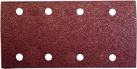 plata Set de 8 Piezas sin perforaci/ón Wolfcraft 2048000 2048000-8 Patines de Lija corind/ón Grano 180
