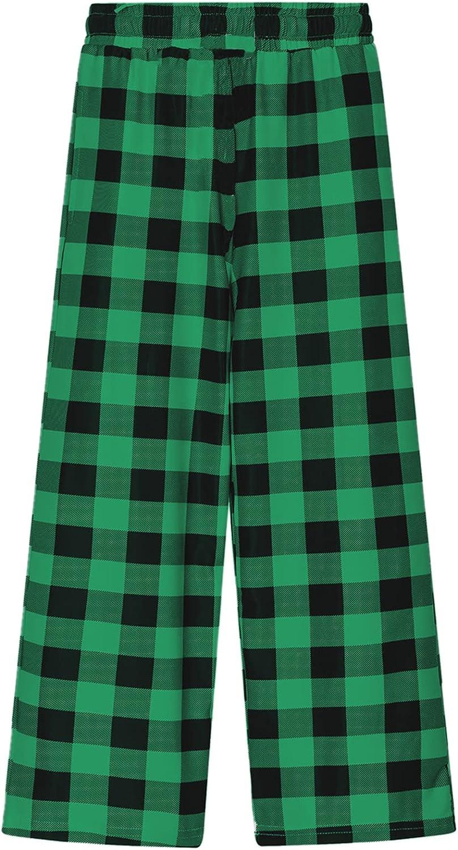 Betusline Girls' Ranking Kansas City Mall TOP1 Fashion Comfy Wide Leg Pants 2-14 Pockets with
