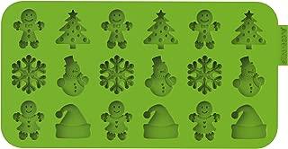 Siliconezone SZ13OM-11858AA Christmas Chocolate Wafer Mold