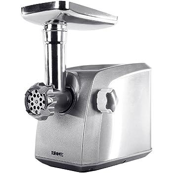 Picadora eléctrica trituradora de carne con cuerpo de acero inoxidable MG1600 UK plateado: Amazon.es: Hogar