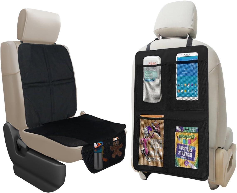 lebogner Car Seat Protector + At the price Back Kick Max 80% OFF Mat Auto