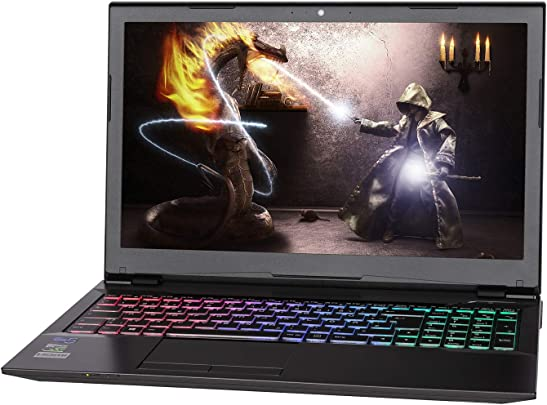 NEXOC Gaming Notebook Laptop  15 6 Zoll Full HD  mit Intel G5400  3 70GHz   GTX 1650 4GB  1TB HDD  8GB DDR4 RAM  G1523