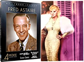 Buxom Beauty Funny Mae West + Fred Astaire Collection I'm No Angel / Goin to Town / Night After / Royal Wedding / Notorious Landlady / Second Chorus You'll Never Get Rich 9 Film DVD Classic Movies