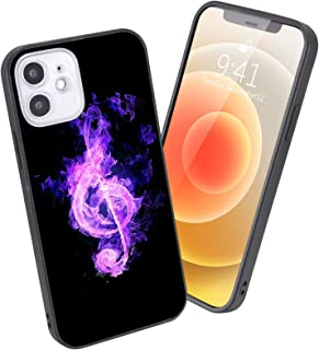 LuGeKe Burning Music Phone Case for iPhone7 Plus/iPhone8 Plus,Music Patterned Cool Design Case Cover,HardPCBackwithT...