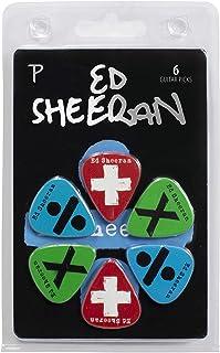 Perris LP-ES1 Ed Sheeran Licensed 6-Pack Guitar Picks Limited Edition Official