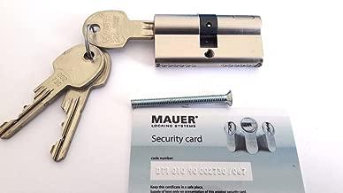 MAUER DT1 SKG High Security Euro Cylinder Lock/Assa Abloy Group/3 Keys /ID card (36/36)